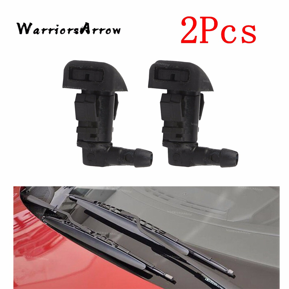 Car Accessories 2Pcs Car Pair Left+Right Windshield Wiper Washer Spray Nozzle Jet For Honda Accord 2003 2004 2005 2006 2007