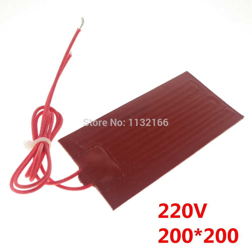 220V 300W 200*300mm Silicon Band Drum Heater Oil Biodiesel Plastic Metal Barrel Electrical Wires купить