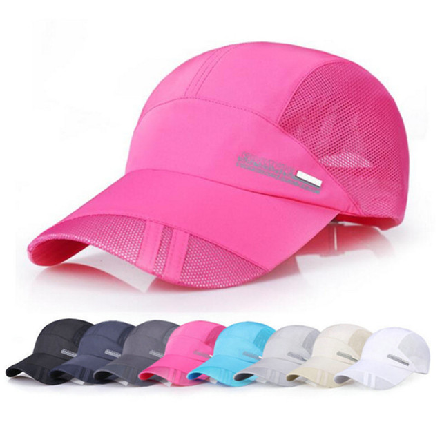 f2a5f78739e Tennis Caps Trucker Caps Summer Baseball Caps Hat Mesh Breathable  Comfortable Adjustable Snapback Best Hats for Sport