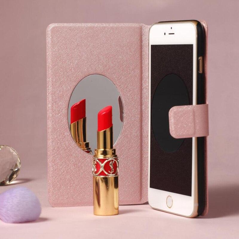 "For HTC U11 Case Luxury Leather Flip Case For HTC U11 mirror Flip Cover For HTC U11 Vive U-3f 5.5"" Phone Shell"