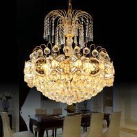 Modern Luxury Led Chandelier Lighting Lustre K9 Gold Crystal Chandelier For Dining room Bedroom Living Room Ceiling Fixtures
