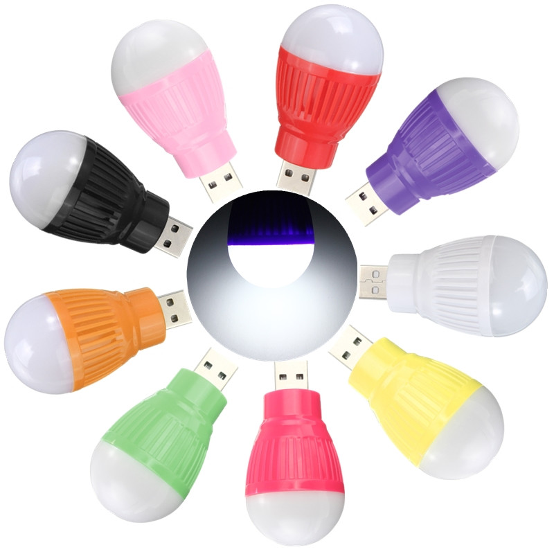 Портативный мини 5 Вт USB LED ночник красочные Глобусы напольный светильник аварийные лампы для портативных компьютеров PC стол настольная лам...