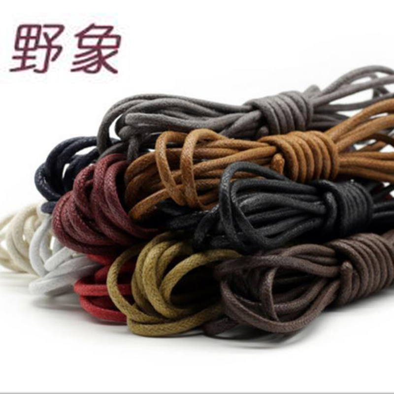 12 pairs fashion casual shoelaces high quality Waxed Round shoe laces Shoestring Martin Boots Sport Shoes Cord Ropes jup 50 pairs sneaker shoelaces skate boot laces outdoor sport casual multicolor bumps round shoelace hiking slip rope shoe laces