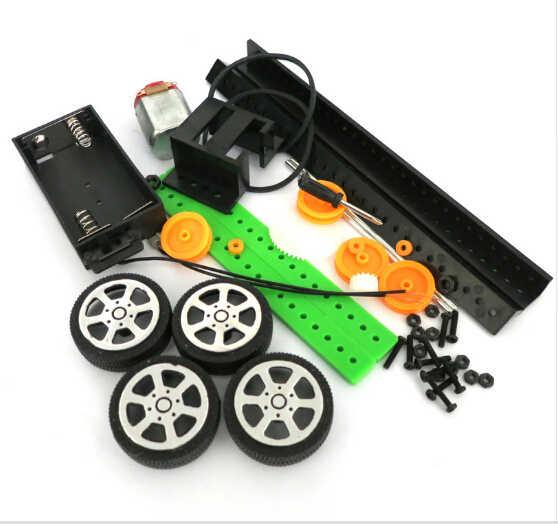 F17921 DIY 4x4 レイダーバギー 2 号少量生産技術モデル科学組立おもちゃのモデル 15*10*4 センチメートル