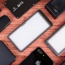 Светодиодный светильник SUNWAYFOTOT для студийной видеосъемки, фотосъемки, освещение для цифровой зеркальной камеры, светильник для селфи для Youtube, Селфи