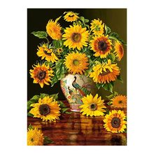 Sunflower Flower vase Diamond Painting  floral Round Full Drill 5D Nouveaute DIY Mosaic Embroidery Cross Stitch home decor gifts