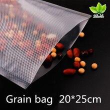 20*25 см/машина для вакуумного сумка Свежий зеленый чай сумка для хранения Еда сохранение мешок, мешок для вещей, 50 шт в наборе