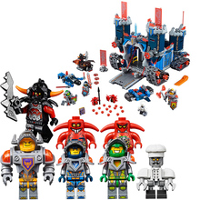 Lepin The High Tech Mobile Fortrex NEXUS KNIGHTS Minifigures Building Blocks DIY Bricks Toys For Children 5starelieds