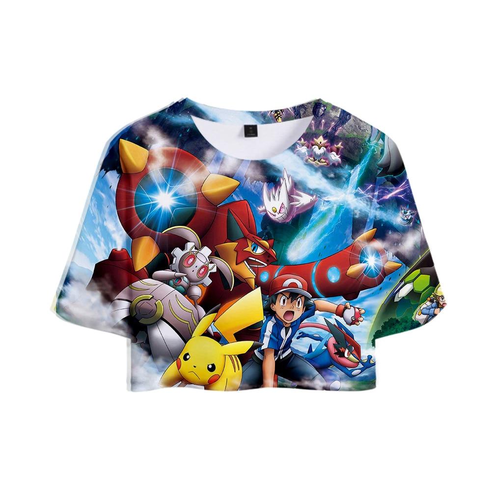 luckyfridayf-2019-new-font-b-pokemon-b-font-3d-print-anime-pikachu-tops-crops-girl-t-shirt-short-t-shirt-women-sexy-sale-casual-clothes