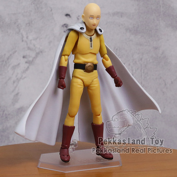 ONE PUNCH MAN Saitama figma 310 PVC Action Figure Collectible Model Toy 1