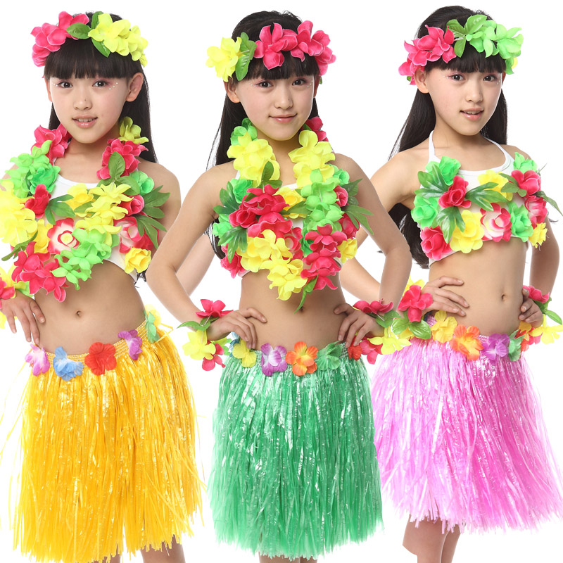 Aliexpress.com  Buy 10pcs/lot Free Shipping Halloween Carnival Christmas Kids Girls Hawaiian ...