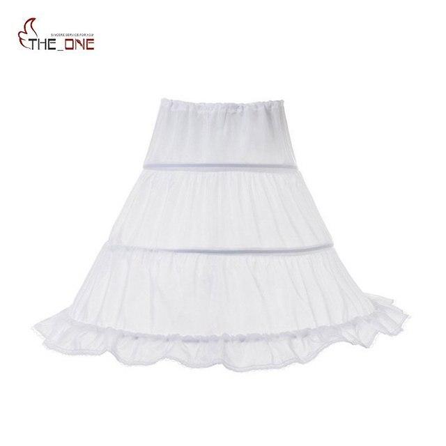 MUABABY Cô Gái Váy Lót Trẻ Em 2-3 hoops Hoa Nửa Trượt Cô Gái Khung Làm Cái Vái Phùng Lót cho Công Chúa Trang Phục Buổi Tối Wedding Dresses