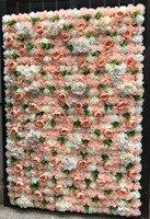10 шт./лот свадебный цветок стены для стадии фон Свадебные искусственный цветок украшение пион Dalia цветы фон