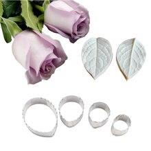 Набор для силиконовые формы розы форма veiner лепестков из нержавеющей