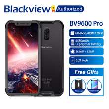 "Blackview BV9600 Pro Handy Robuste IP68 Wasserdichte Helio P70 Globale 4G Smartphone 6,21 ""Screen 6GB RAM 128GB MT6771 5580mAh"