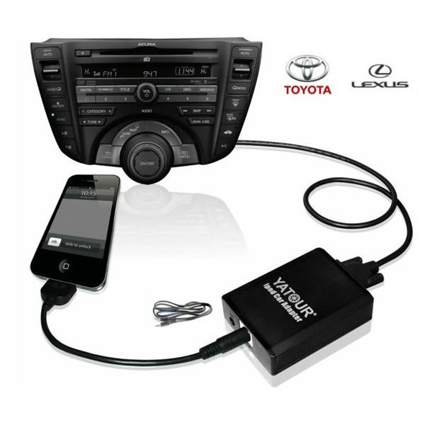 Csptek Free Shiping Car Music Cd Changer Ipad Ipod Iphone