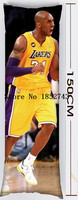 40*105cm and 50*150cm pillowcase American super star Kobe Bean Bryant 002 for fans body pillow cases for free shipping