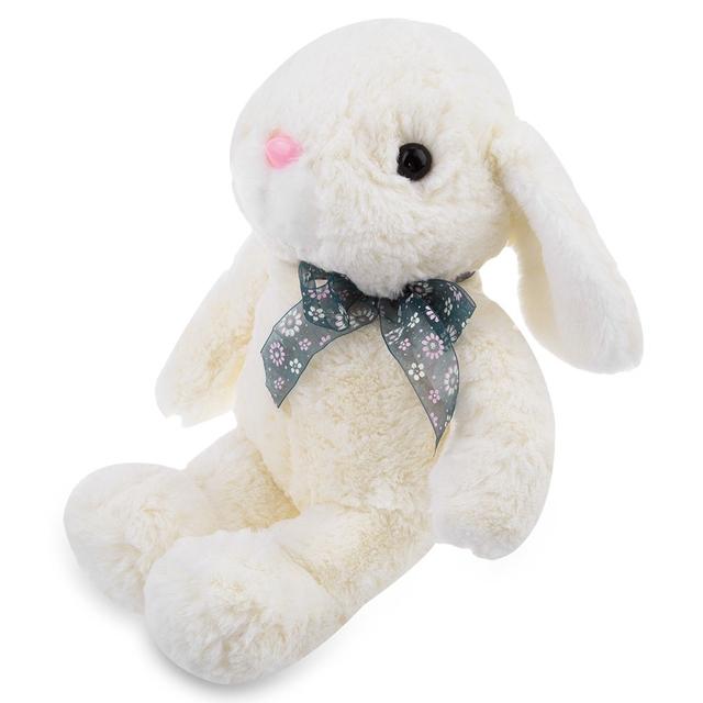 MiMoSa Bebés Cochecito Multifuncional Lindo Conejo de Peluche de Juguete Colgando Cama de Bebé Animal Cochecito de Muñecas Accesorios de Regalo de Navidad