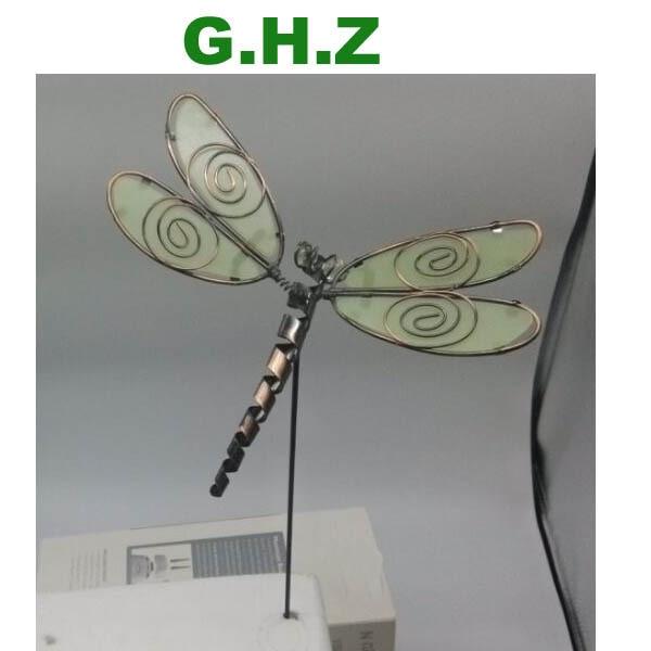 Aliexpresscom Buy Glow In The Dark Dragonfly Garden Stake
