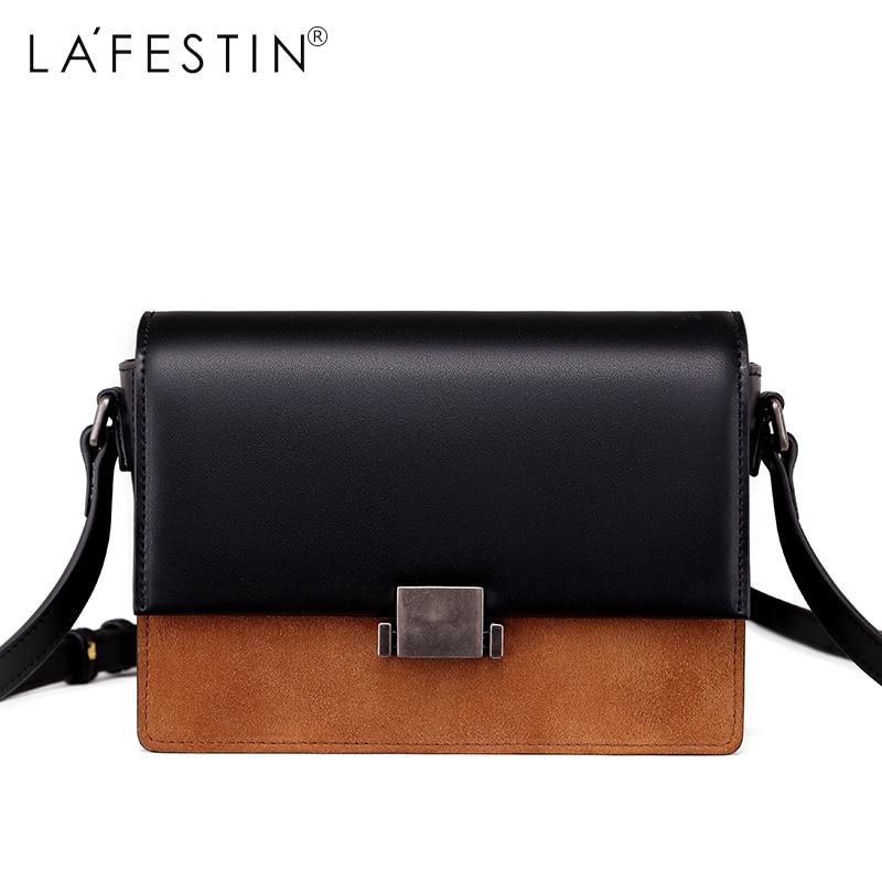 LAFESTIN 2017 Women Flap Shoulder Bag Mini Patchwork Ladies Single Crossbody Bags Female Bags chanel boy flap bag