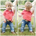 Fashion Baby Boy Clothes Sets Gentleman Suit Toddler Boys Clothing Set Short Sleeve Kids Boy Clothing Set