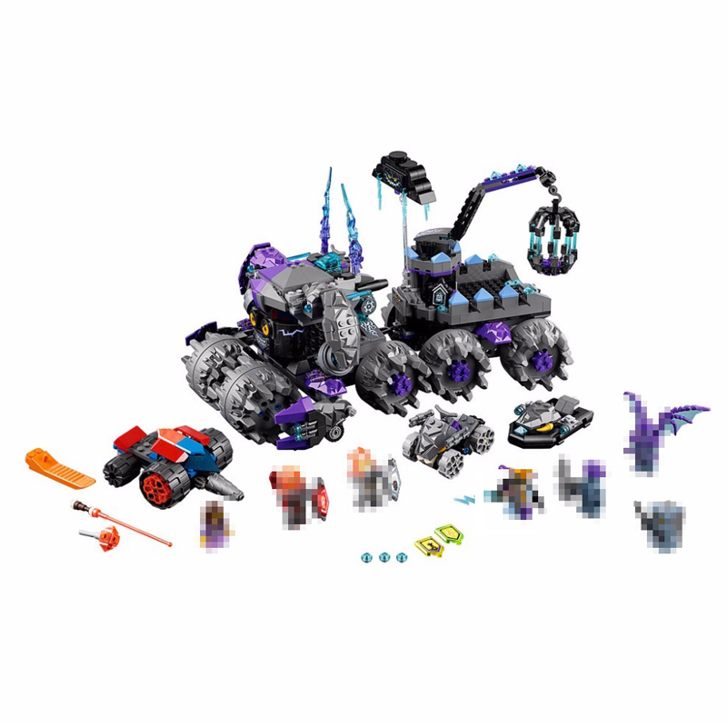 Lepin 14031 Nexus Knights Building Blocks Set Jestro's Monstrous Monster Vehicle Kids Model Bricks DIY Toys For Children 70352 lepin 14004 knights beast master chaos chariot building bricks blocks set kids toys compatible 70314 nexus knights 334pcs set