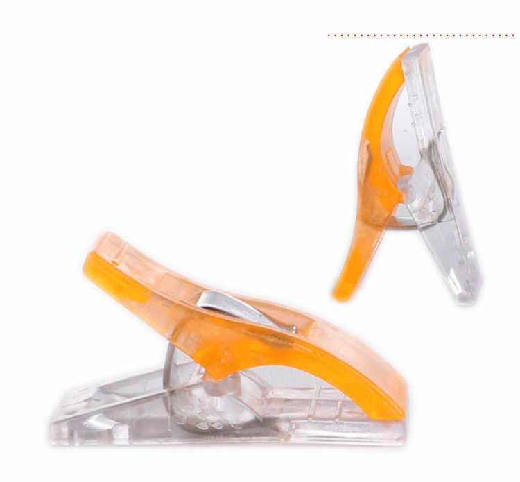 1/5/10 pcsTape Bias Maker DIY Job Foot Case Supplies Plastic Clip Hemming Sewing Tools Sewing Accessories Fabric Clover Mar