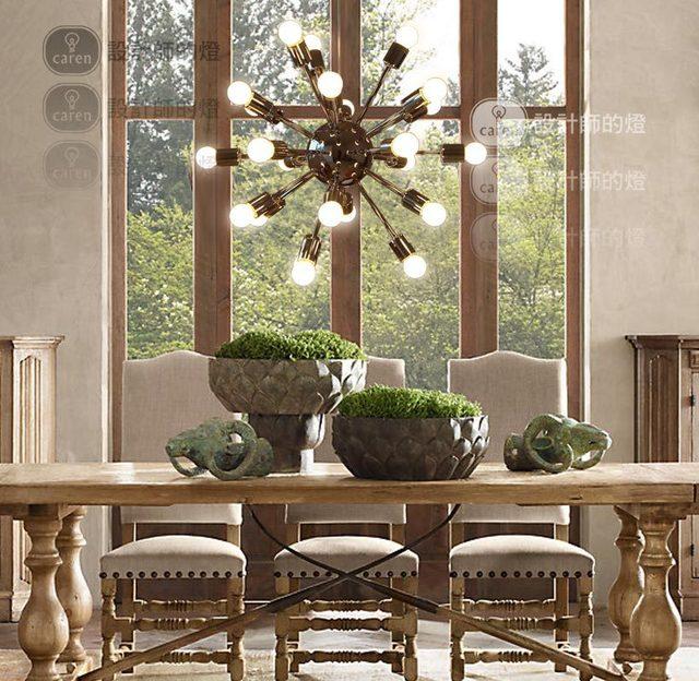 Designer Industriel Lampes Rétro Style Rustique 24