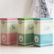 Металлическая квадратная коробка для конфет, жестяная банка, коробка для украшений, коробка для конфет, монет, кофе, чая, контейнер для хранения, чехол, держатель, свадебный подарок