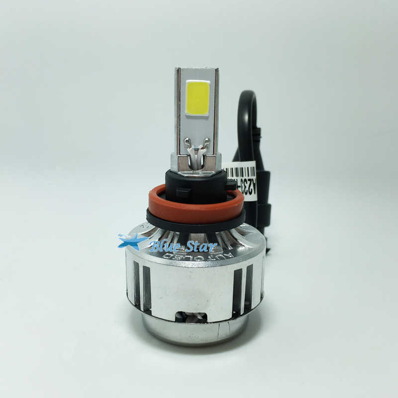 H11  LED Car Headlight Kit 66W 6000Lm Auto Front Light h11 Bulb white 6000K LED Headlamp 12V 24V