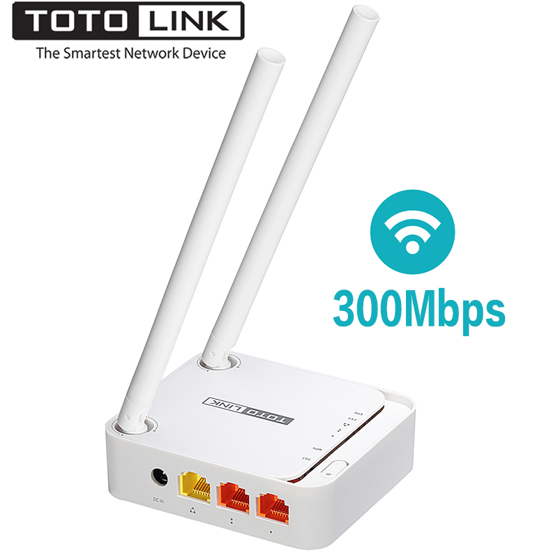 TOTOLINK N200RE 300Mbps Mini Wireless Router Tragbare Version3 <font><b>Wifi</b></font> Reapter für Range <font><b>Extender</b></font>, wi-Fi Router Unterstützung PPTP/L2TP image