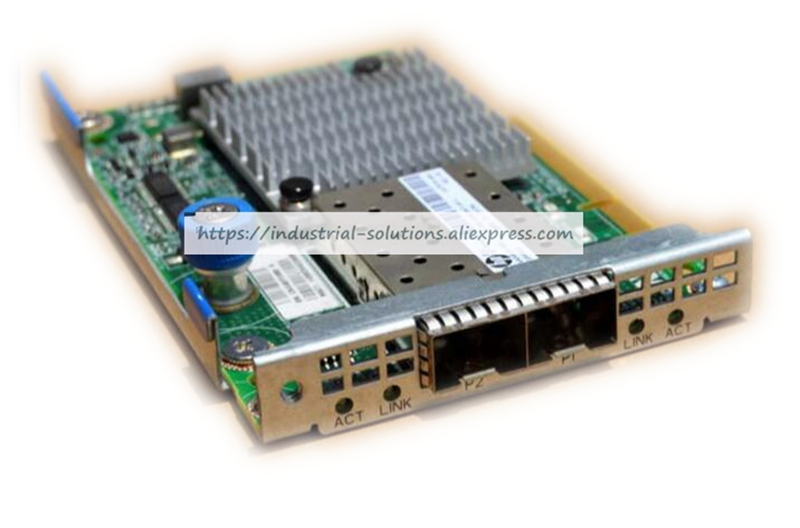 все цены на Motherboard 647581-B21 530FLR 649869-001 647579-001 dual port Gigabit Ethernet card  100% tested perfect quality онлайн