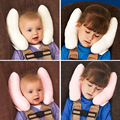 OTOKIT Useful Cushion Head Neck Rest for Car Baby Buggy Headrest Neck Seat Cover Baby Head Rest Cover Cartoon Seat Covers Toy