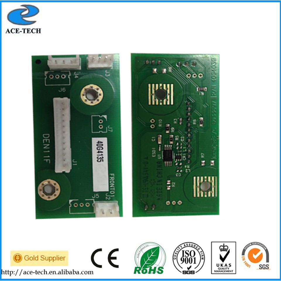 40G4135 Developer unit chip for Lexmark MS710 MX710 MS810 MX810 MS812 MX812 MS811 MX811 MX711 MS711 laser printer cartridge chip for lexmark mx 811 dtme for lexmark 812 dtfe for lexmark mx 810dme new toner refill kits chips fuses free shipping