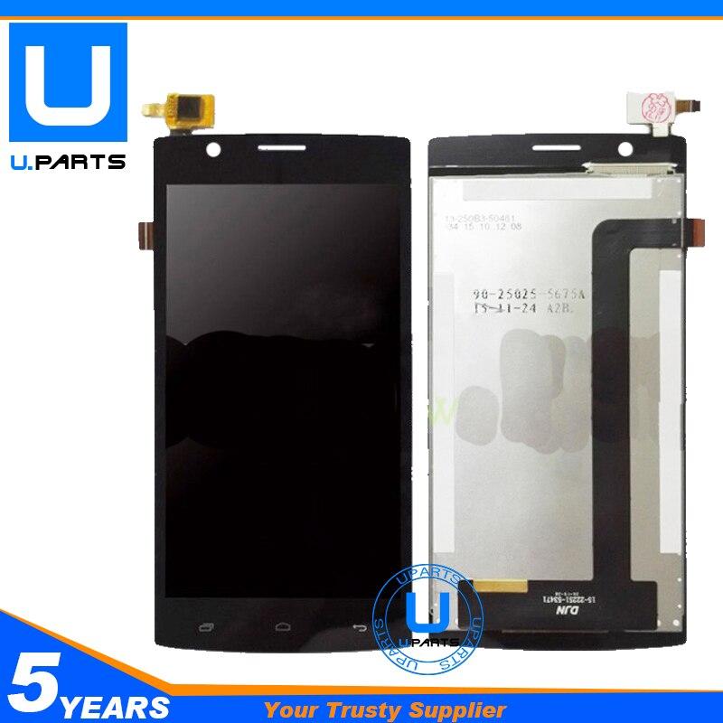 imágenes para A + + Calidad Para Fly FS501 Nimbus 3 FS 501 Panel de la Pantalla LCD + Pantalla Táctil Digitalizador Asamblea Completa