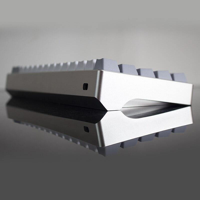 Clavier mécanique coque anode aluminium coque gh60 poker 60 clavier mécanique coque dz60 bricolage clavier