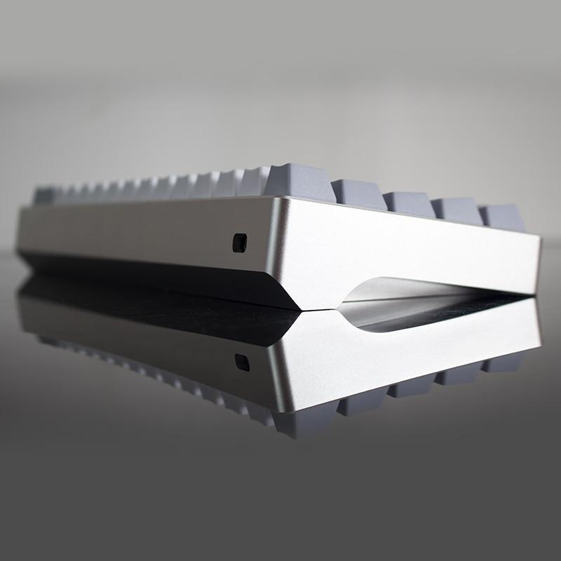 Mechanical Keyboard Shell Anode Aluminum Shell Gh60 Poker 60 Mechanical Keyboard Shell Dz60 Diy Keyboard
