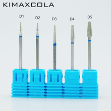 KIMAXCOLA Nail Drill Bits Diamond Grinding File For Electric Machine Pedicure Manicure Nail Art Tool недорого
