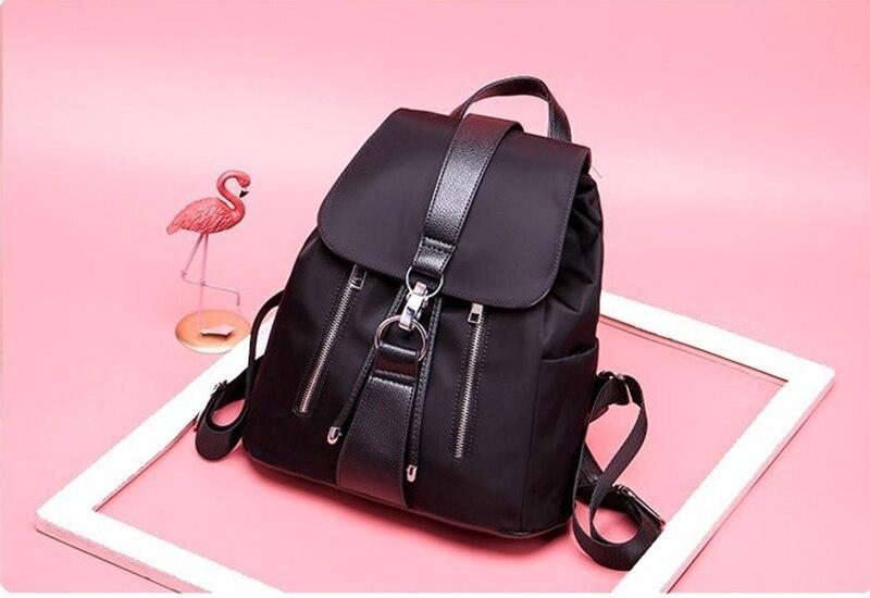 HTB10PN3OYvpK1RjSZFqq6AXUVXay Women Backpack Designer High Quality Nylon Women Bag Fashion School Bags Large Capacity Knapsack Casual Travel Bags