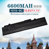 11.1v 6600MAh Laptop battery For Asus A32 1015 A31 1015 AL31 1015 PL32 1015 FOR Eee PC 1011 1015 1015P 1015PE 1016 1016P 1215