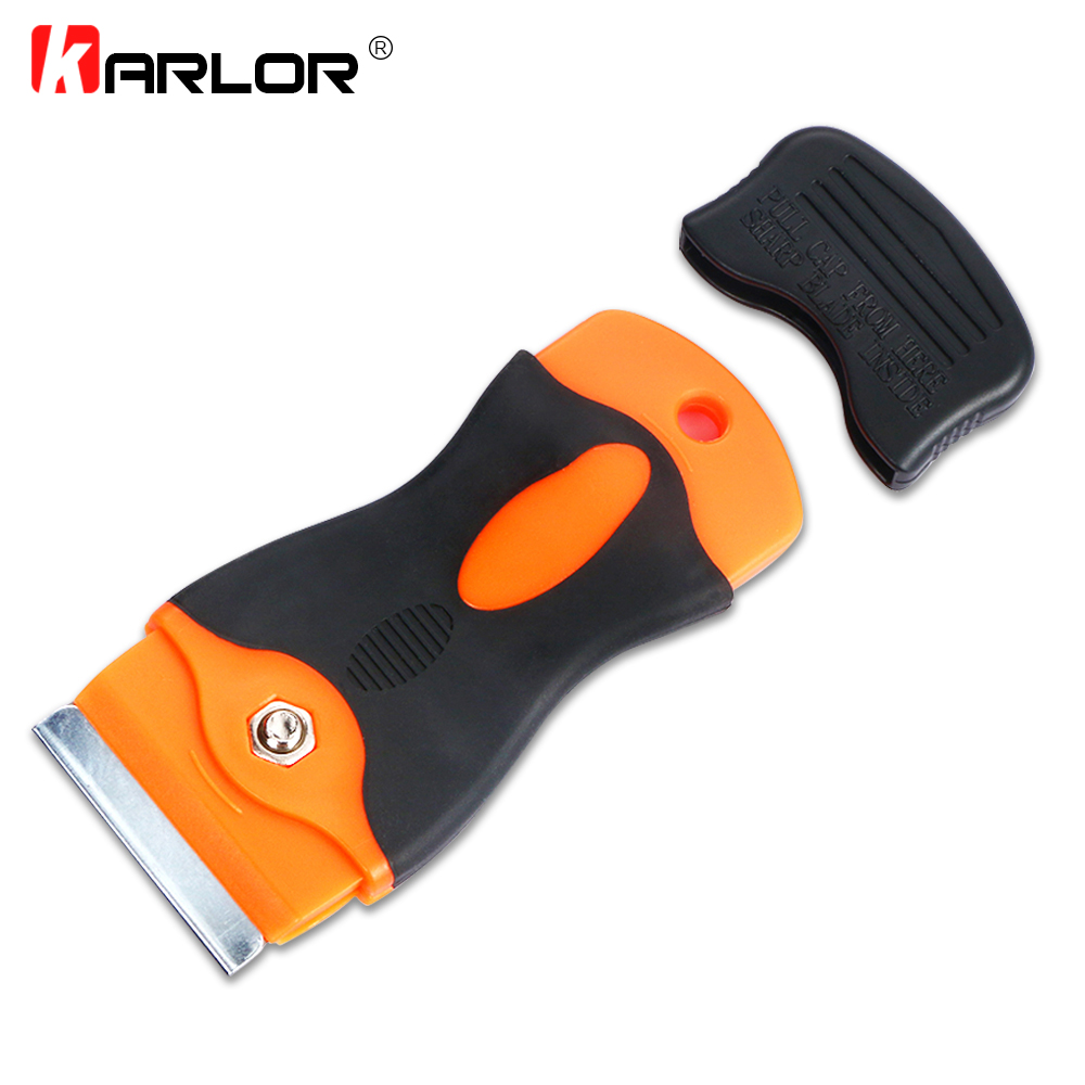 Multi Razor Scraper Steel Blades Window Tint Tool Cutter Auto Car Film Sticker Car Wrap Remover Squeegee Vinyl Cleaning Tool