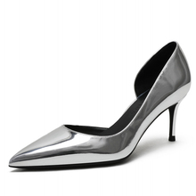 Hot Sale Design Classic Elegant Big Size Thin High Heels Party Lady Women's Pumps Date Office Lady Pointed Toe Women Shoes F0067 karinluna new arrivals big size 31 43 round toe platform women shoes woman elegant spike high heels party office lady pumps