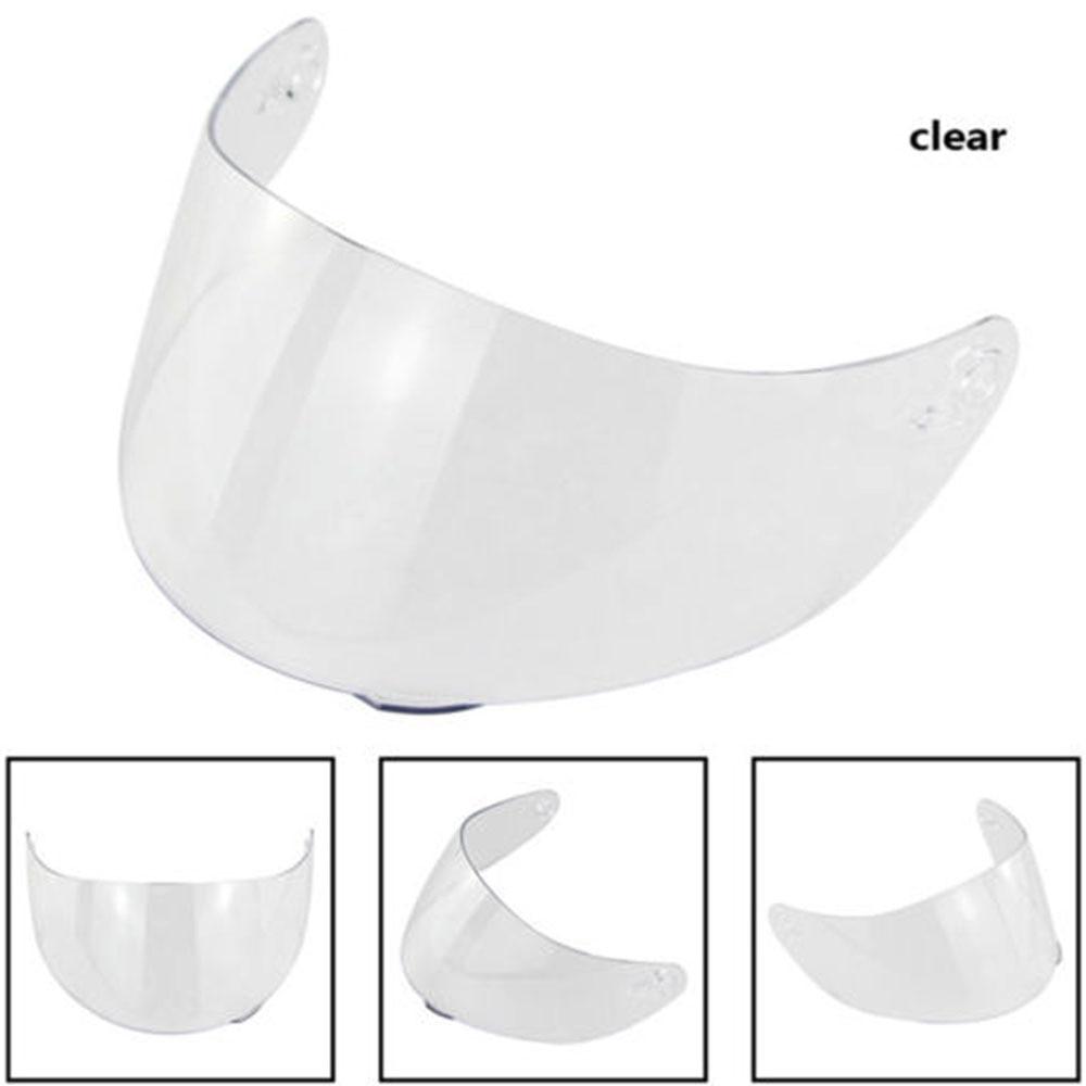 Очки козырек шлем Объектив Маска защитный мотоциклетный шлем объектив для Goggle Для K3SV K5 - Цвет: Clear