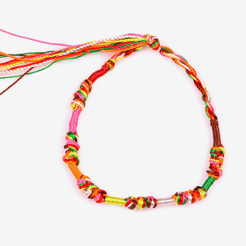 Fashion brazilian bracelet multicolor braided boho chain bohemian tassel strain handmade sport chain friendship bracelets unisex 2