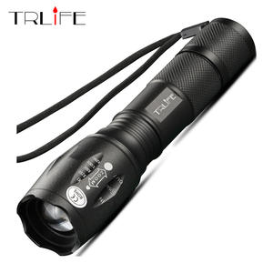 LED Flashlight 10000 Lumens Rechargeable Bright Tactical Flashlight