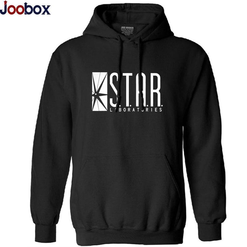 New 2017 Autumn Winter Brand Hoodies Sweatshirts Men STAR Letter Print Hooded Hoodie Men S T