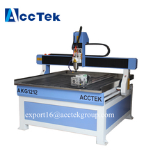 China 3 4 5 axis 3D wood engraving carving used cnc router machine for aluminum 6090 6012 1212 1224