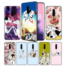 Cartoon 101 Dalmatians Soft Black Silicone Case Cover for OnePlus 6 6T 7 7T Pro 5G Ultra-thin TPU Phone Back Protective Case(China)