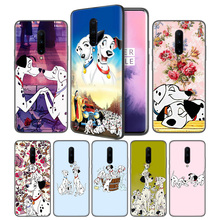 Cartoon 101 Dalmatians Soft Black Silicone Case Cover for OnePlus 6 6T 7 Pro 5G Ultra-thin TPU Phone Back Protective