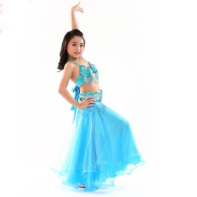 Online Shop Belly Dance Costumes Girls Kids Oriental Dance Costumes